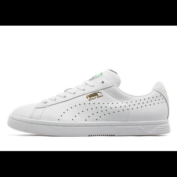 Puma Shoes | Court Star White Trainers